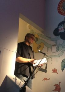 "Steve Durham read from his essay ""Human Out of Me,"" a rumination on the writing life, mental health crises, and the power of music to be your guide."